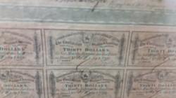 Civil War War Bonds