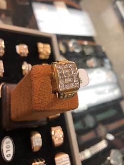 Mens 2 CTW Diamond Ring1