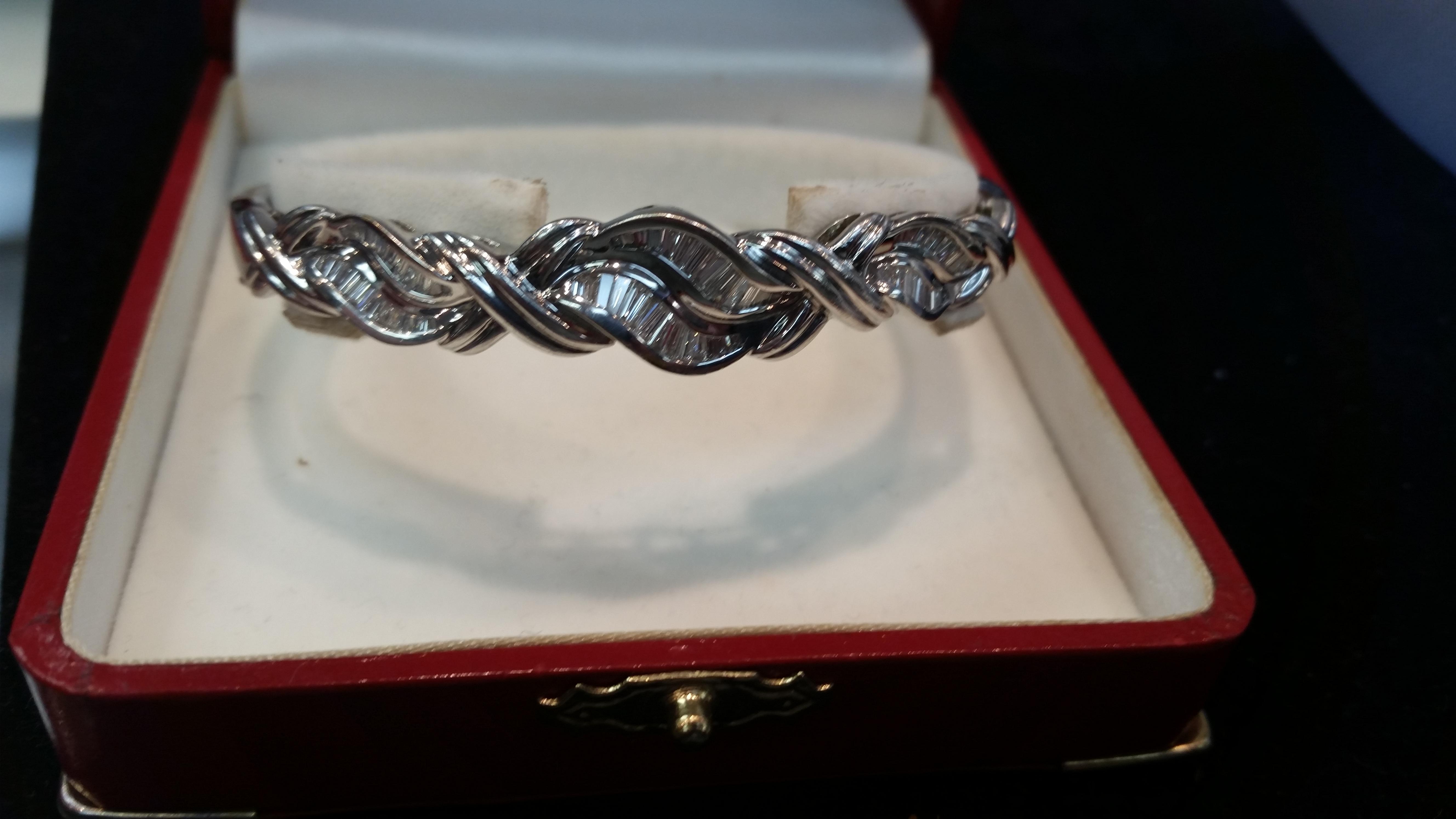 Custom Set Stones, handmade brace