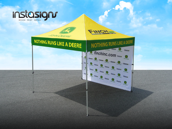trade show displays, canopy designs, canopies, canopy graphics