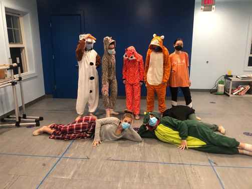 Inspire Company is in the silly spooky spirit!