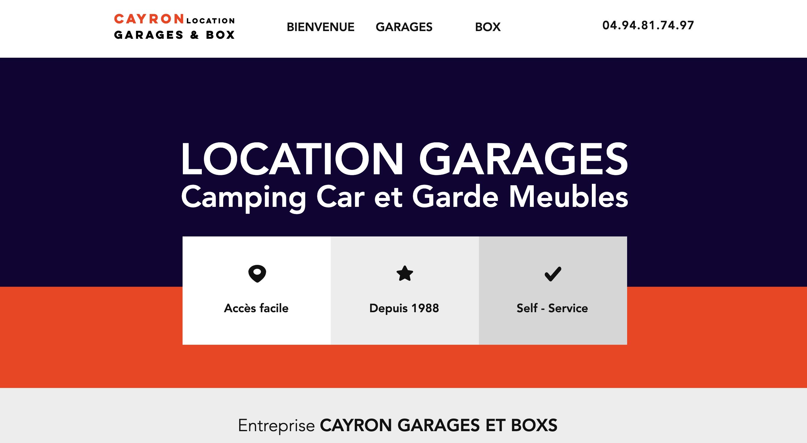 Cayron Garages et Box