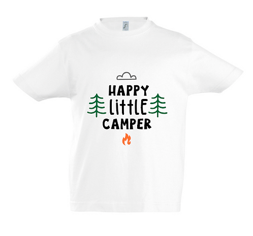 Happy Little Camper Kids T-Shirt