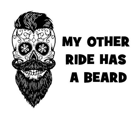 My Other Ride Has A Beard
