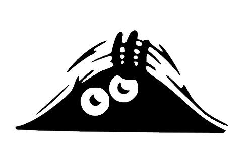Peeking Boot Monster