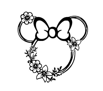 Mini Mouse Flower