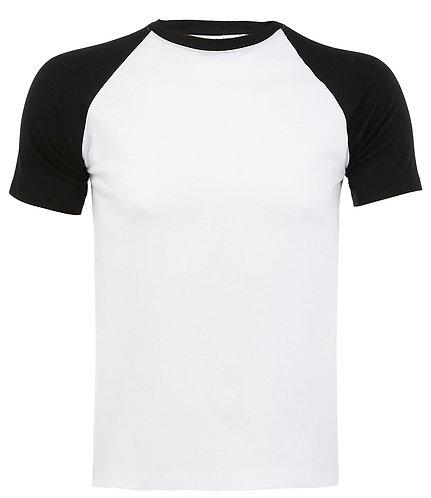 Funky Contrast Baseball T-Shirt