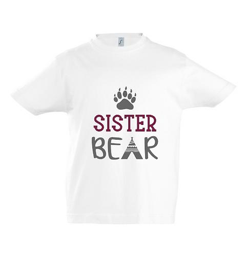 Sister Bear Kids T-Shirt