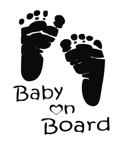 Baby On Board (Feet)