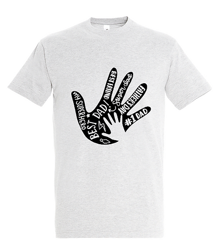 Hand And Words For Dad T-Shirt