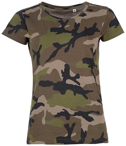 Ladies Camo T-Shirt