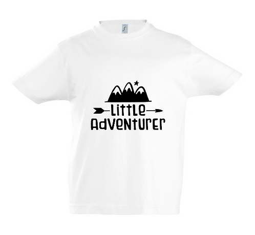 Little Adventurer Kids T-Shirt