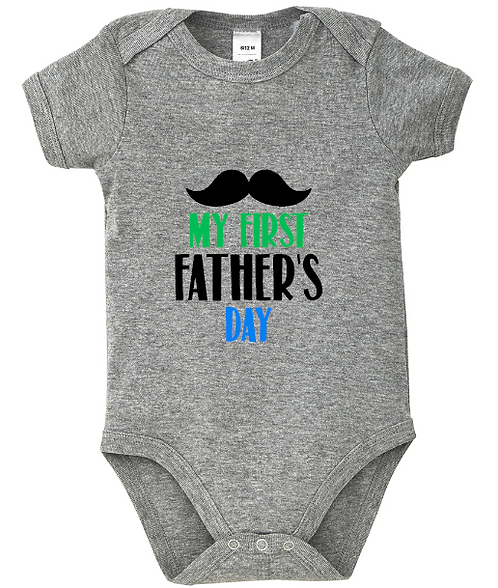 My First Fathers Day Baby Bodysuit