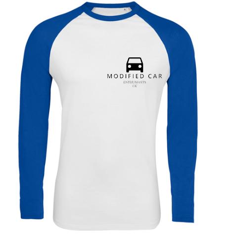 Mens Contrast Long Sleeve T-Shirt