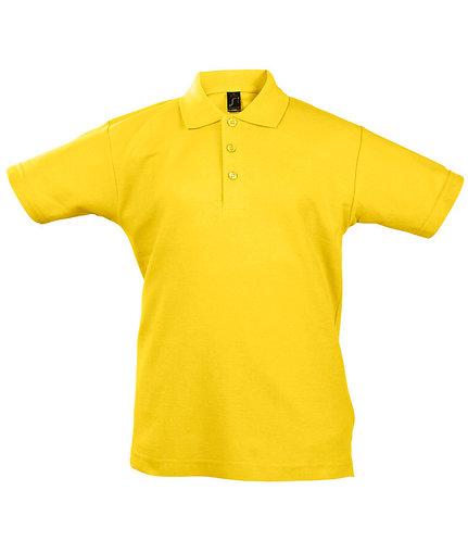 Kids Summer II Cotton Piqué Polo Shirt
