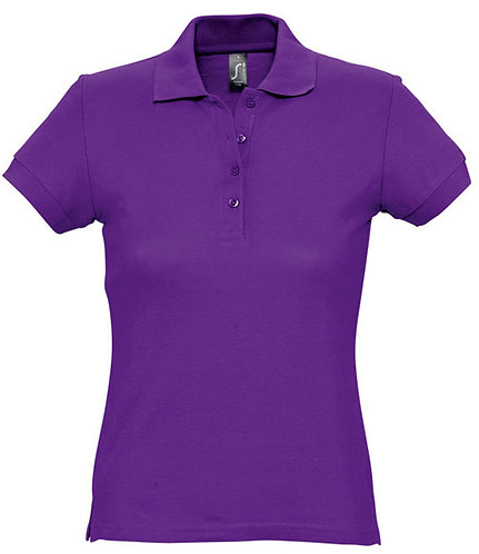 Ladies Passion Cotton Piqué Polo Shirt