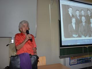 Vortrag von Fr. Hackl
