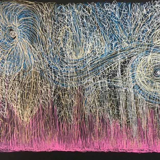 Swirling Dharma Wheels