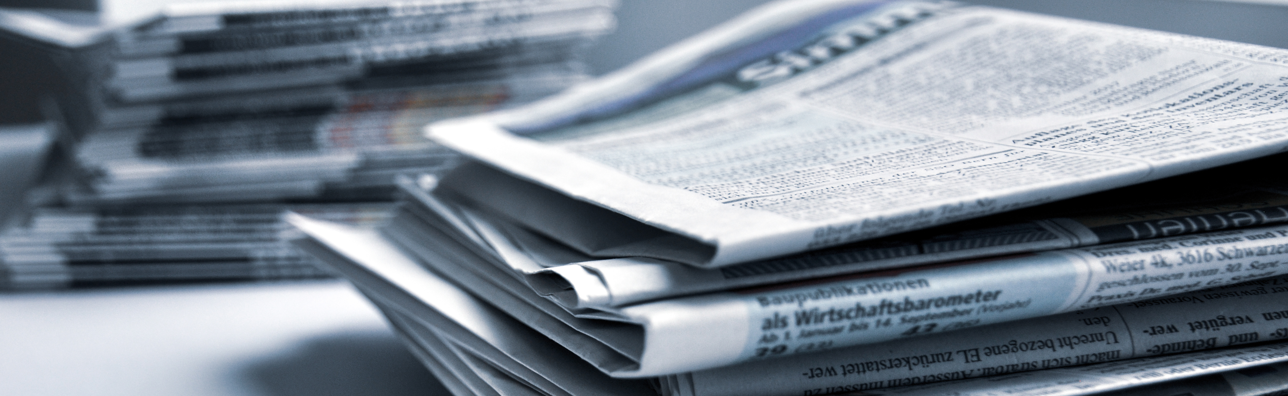 Zeitungsstappel