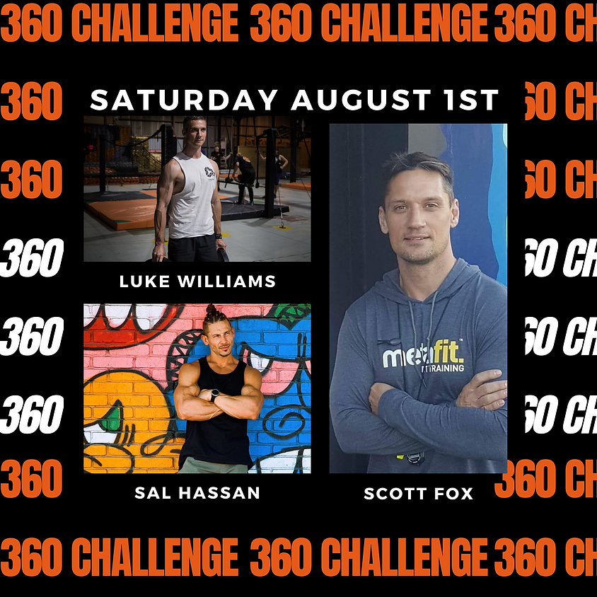 360 Challenge - 3 Hours Only