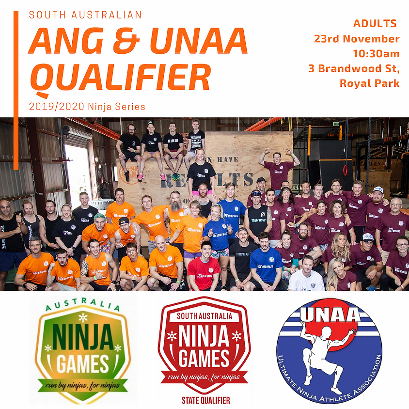 South Australian ANG Qualifier (ADULTS)