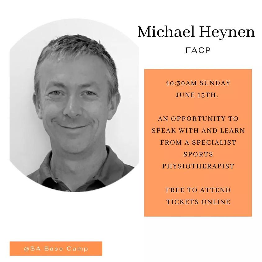Michael Heynen Sports Physio Guest Speaker