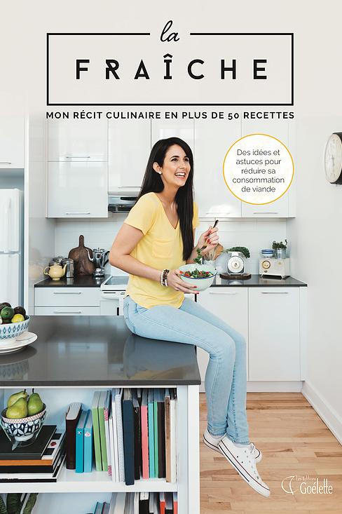 Livre dédicacé - La Fraîche, Mon récit culinaire en plus de 50 recettes