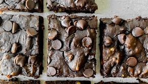 Brownies moelleux choco/citrouille