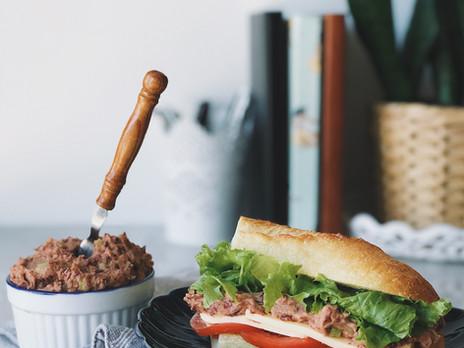 Tartinade d'haricots rouges pour sandwich