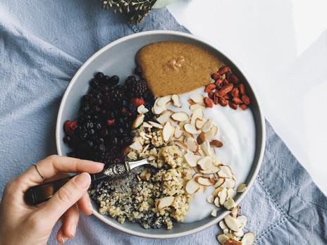 Bol bouddha sucré au quinoa