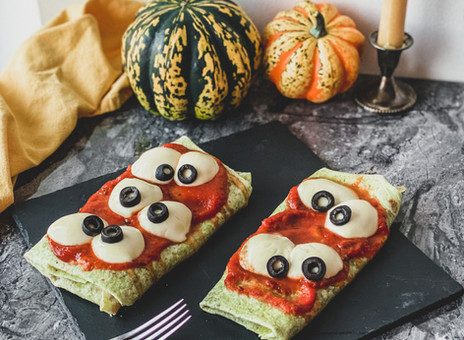 Pizzas monstrueuses