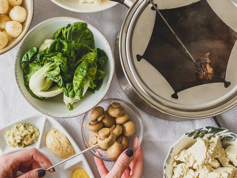 Bouillon végane pour fondue chinoise
