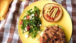 Végé-burger aux haricots rouges