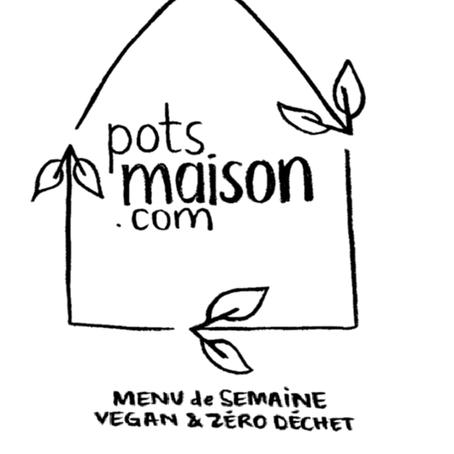 Pots Maison : duprêt-à-manger végane & zéro déchet!