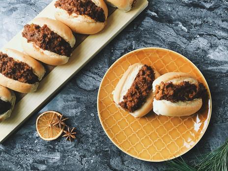Petits pains farcis végétariens (pains gumbo)