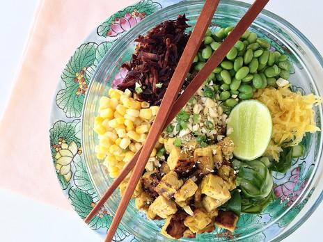 Le tempeh, qu'est-ce que ça mange en hiver? +1 recette!