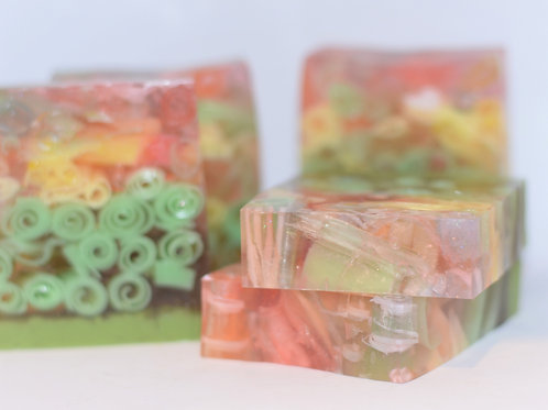 Candy Crush Glycerin Soap
