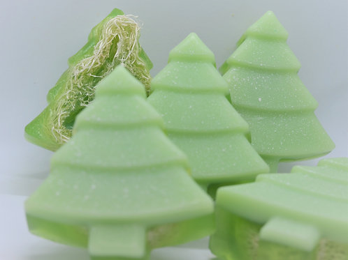 Winter Wonderland Loofah Soap