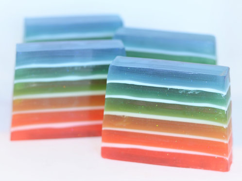 Over the Rainbow Glycerin Soap