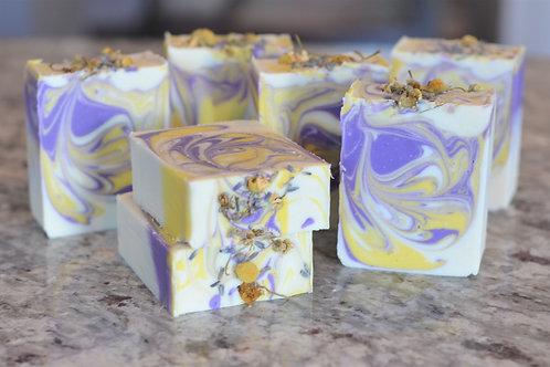 Lavender Camomile Handmade Soap
