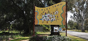 Entry to Violet Town