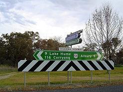 Regional highways Riverina