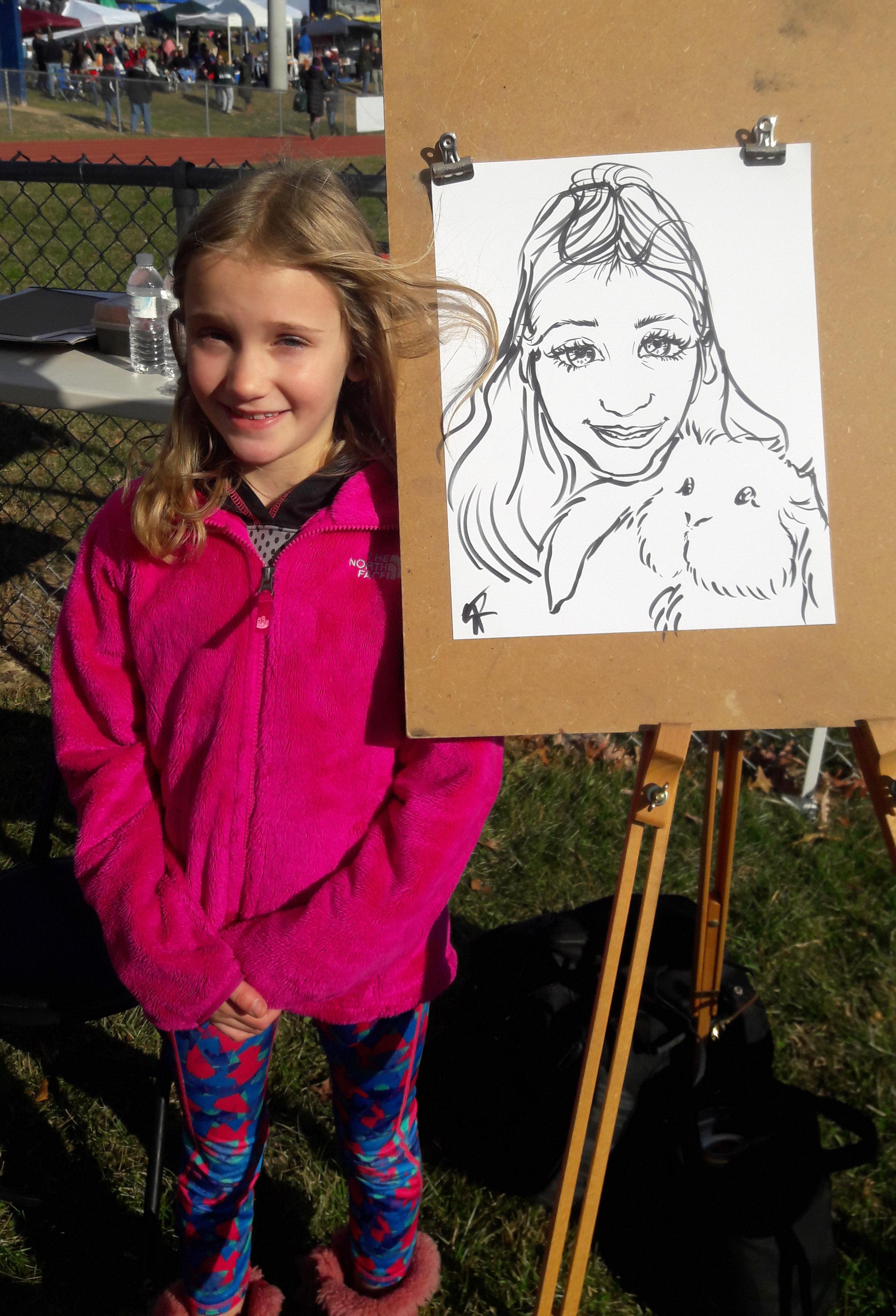 caricature_andgirl