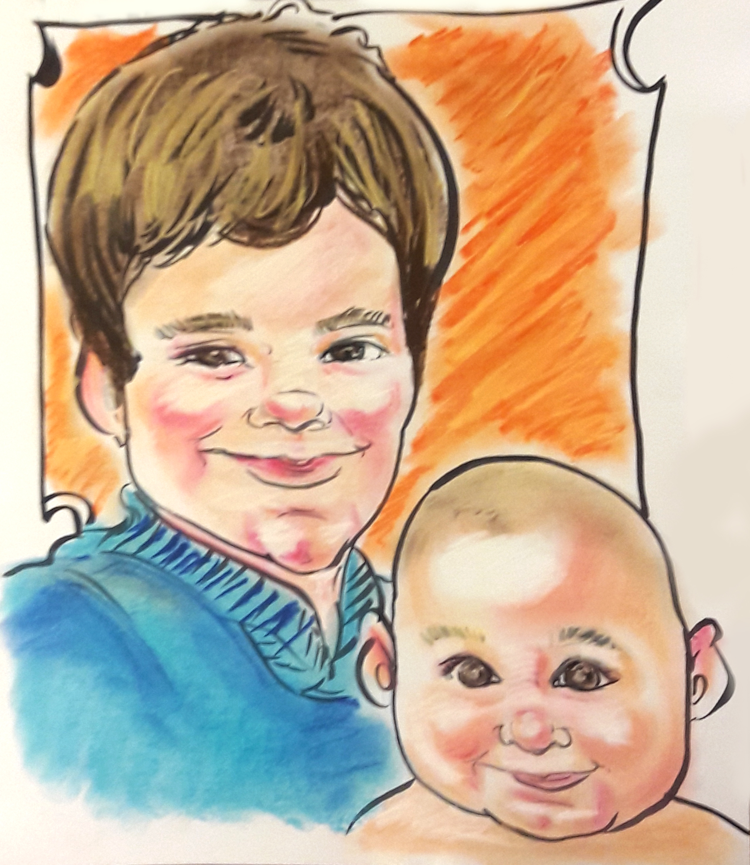 caricature_christmas_gift3