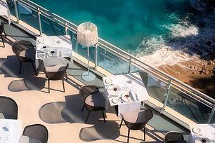 Bellevue Hotel Dubrovnik Outside Dining