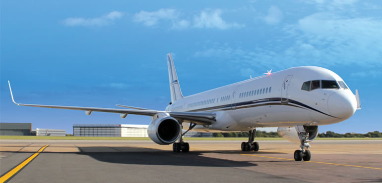 Boeing 757, 767 and 777 VIP Jets available