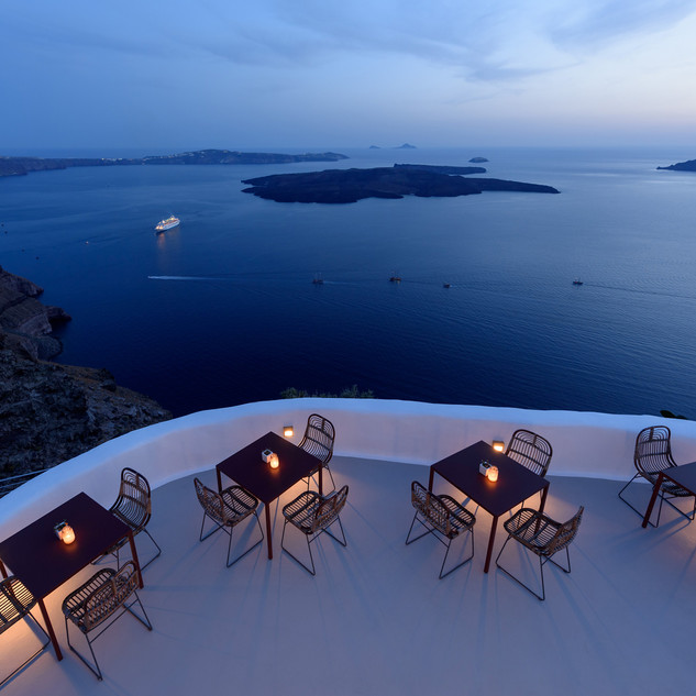 Cocoon Suites Santorini Sundowner Terrac