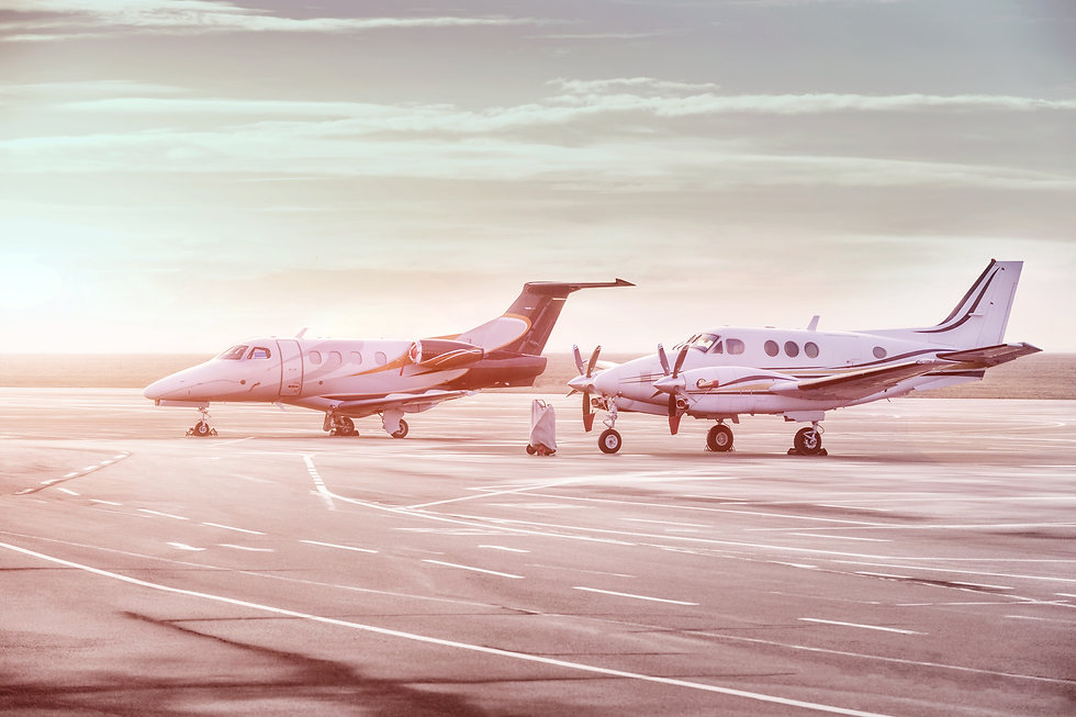 Phenom and King Air Together.jpg