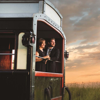Rovos Rail Couple in Oberservation Car.j