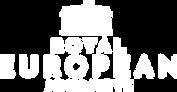 Royal European Journeys Logo White on Tr